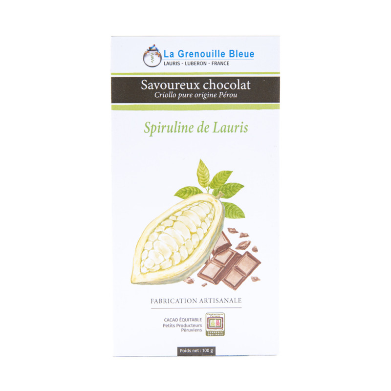Chocolat Spiruline de Lauris